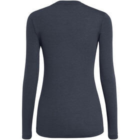 SALEWA Solidlogo Dry Longsleeve T-Shirt Dames, premium navy melange